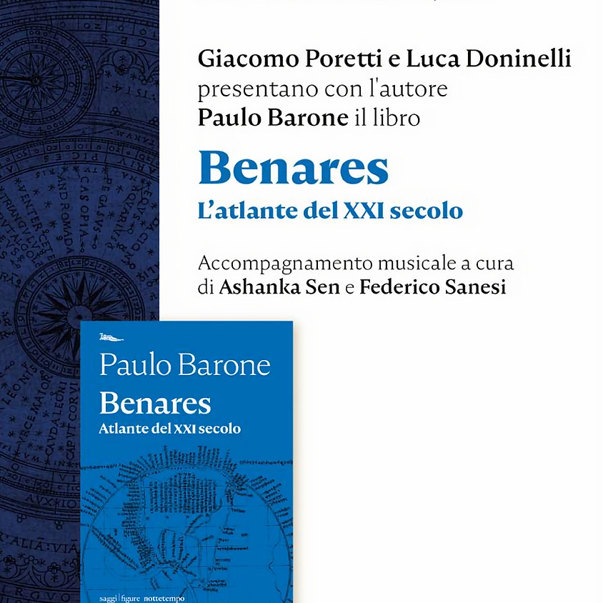 Presentazione del libro Benares di Paulo Barone