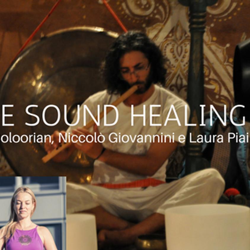 Yoga e Sound Healing con Niccolò Giovannini e Shervin Boloorian