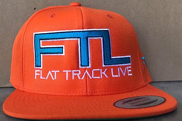 FTL Snapback Hat | Orange