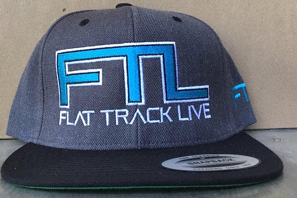 FTL Snapback Hat | Grey/Black