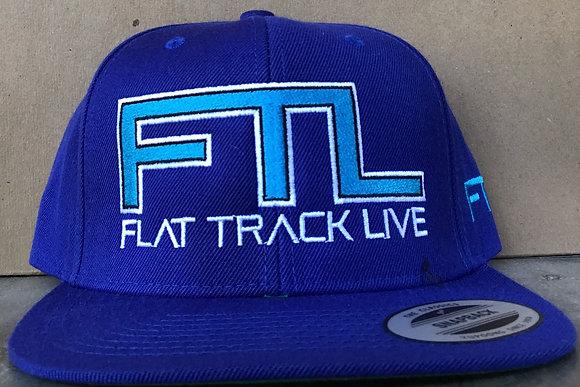 FTL Snapback Hat   Royal Blue