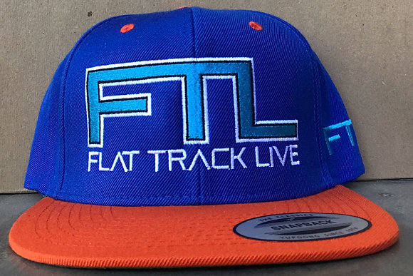FTL Snapback Hat | Royal Blue/Orange