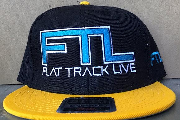 FTL Snapback Hat | Black/Gold