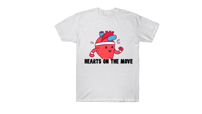 SAM LOGO HEARTS ON THE MOVE