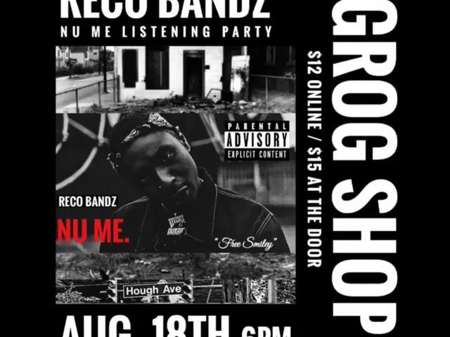 RECO BANDZ LIVE @ THE GROG SHOP