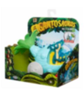 בובת דינוזאורים - ביל עם רכב