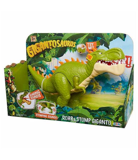 בובת דינוזאורים - ג'יגאנטו שועג ורוקע
