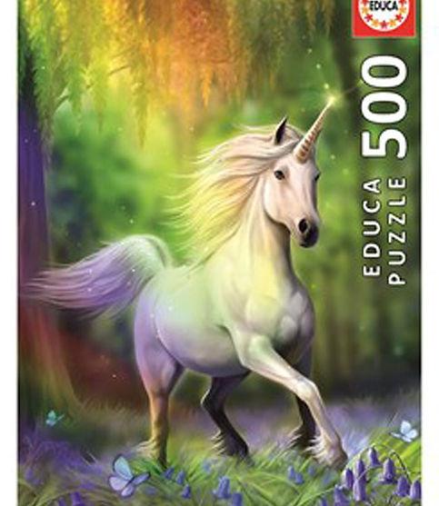 סוס חד קרן ביער קסום