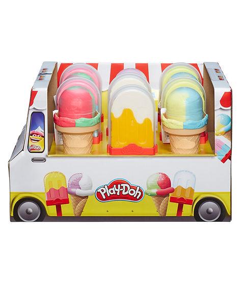 פליידו גלידות בדיספליי