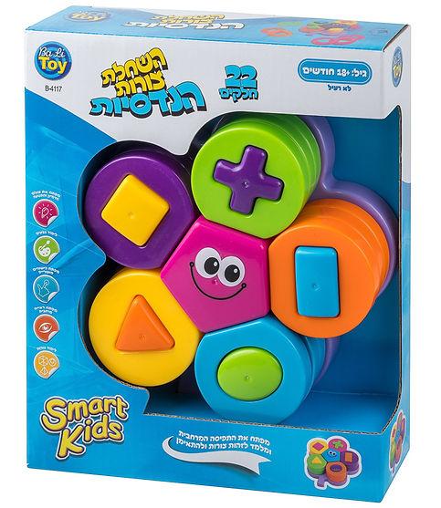 השחלת צורות הנדסיות - SMART KIDS