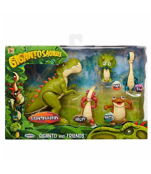 בובת דינוזאורים - סט 5 דמויות