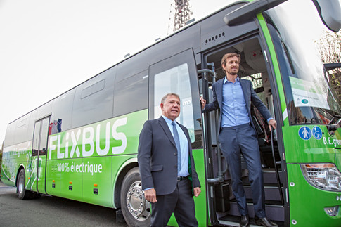Inauguration d'une ligne FLixbus