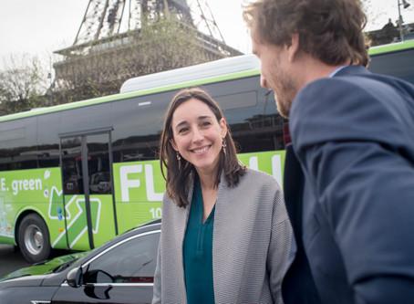 Inauguration Flixbus. Reportage corporate.