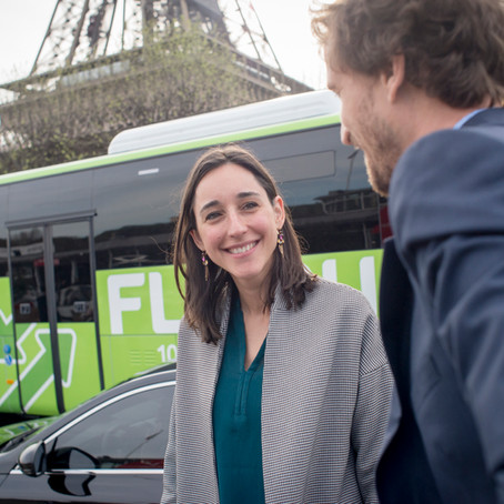 Inauguration Flixbus. Reportage corporate.