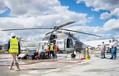 Contrustion de l'usine Airbus au Bourget