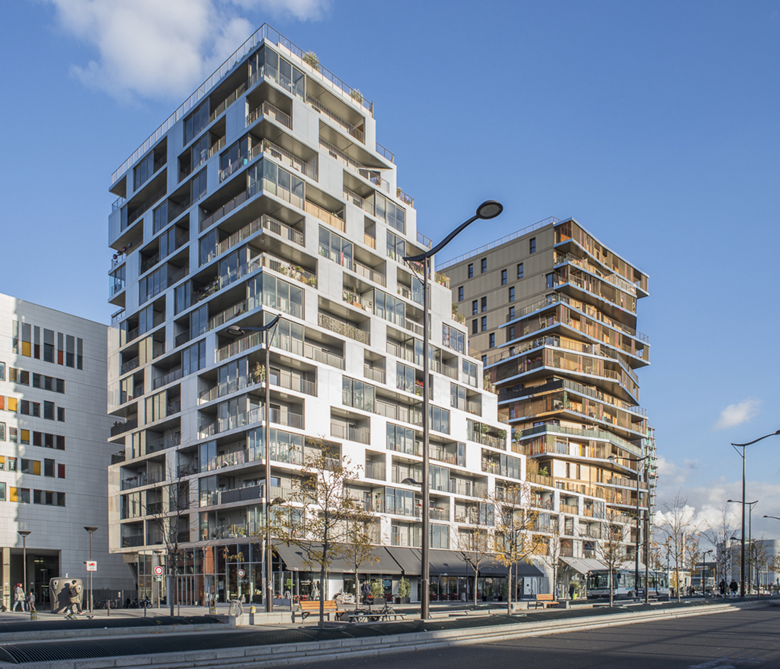 Bâtiment Home, ZAC Masséna, Paris