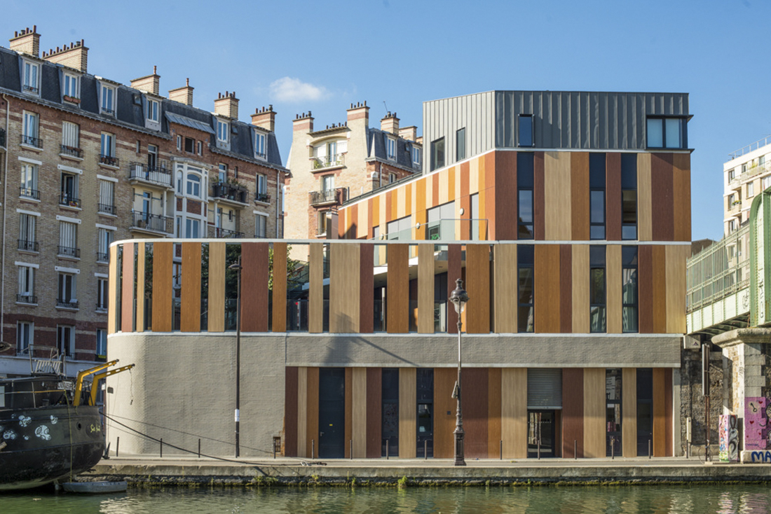 Bâtiment Home, ZAC Masséna, Paris XI