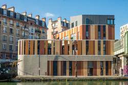 Bâtiment Home, ZAC Masséna, Paris XI