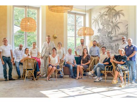 Crédit Municipal de Paris. Photos du Comité de Direction.