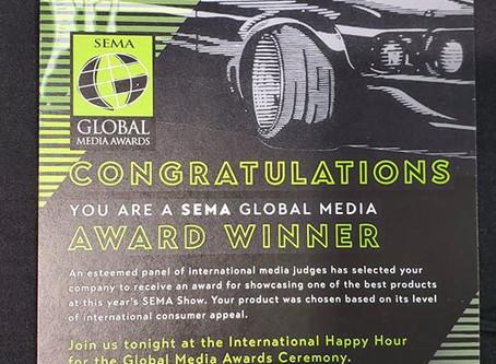 Victor Racing Wins SEMA GLOBAL MEDIA AWARD