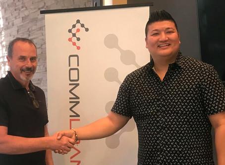 CommLoan Announces Agreement With Sparkle Blockchain