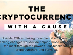 SparkleCOIN: The Cryptocurrency with a CAUSE!