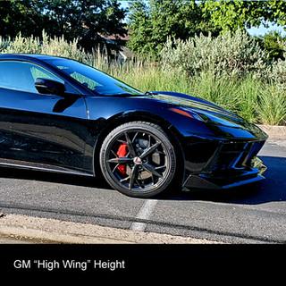 custom corvette wing c8