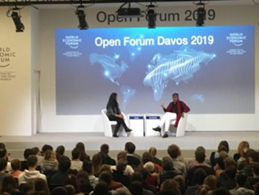 The Price of Free wins hearts at DAVOS