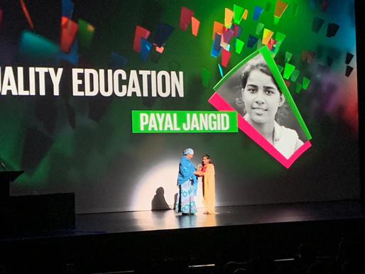 Nobel Laureate congratulates Indian Goalkeeper awardee
