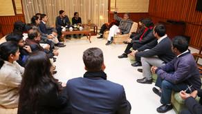 Nobel Peace laureate addresses Judicial Colloquium at Mussoorie