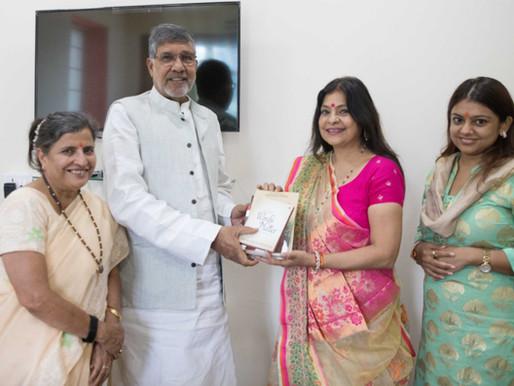 Popular Indian folk singer Malini Awasthi calls upon Nobel Peace Laureate