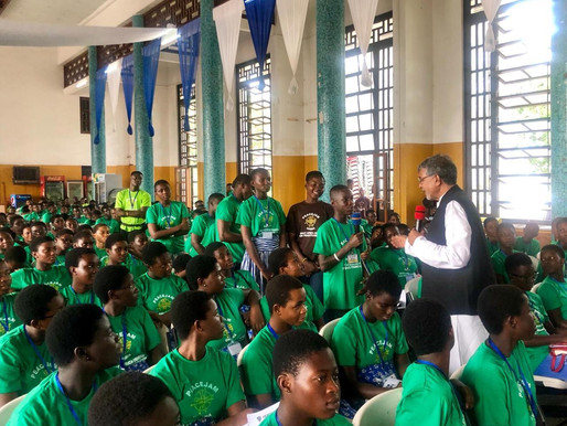 Nobel Peace Laureate invokes the Ghanian Youth