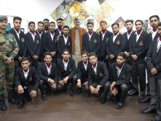 20 youths from Jammu & Kashmir pledge for a child friendly India
