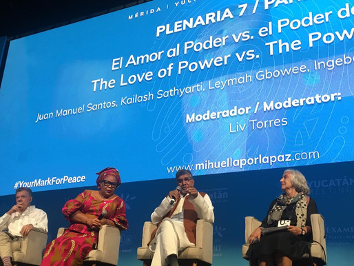 Nobel Peace Laureate advocates for the Power of Love