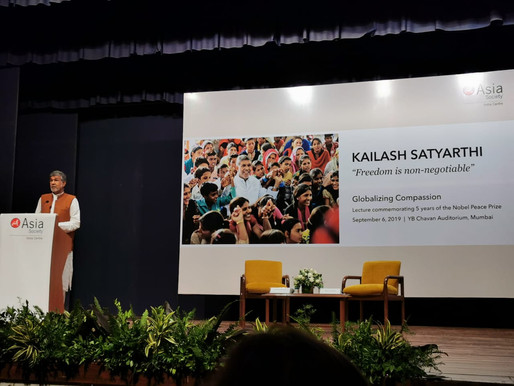 Nobel Peace Laureate invokes compassion at Asia Society