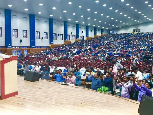 SRM University, Chennai gives a rousing welcome to Nobel Peace Laureate & pledges support