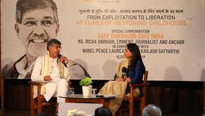 Nobel Peace Laureate bares it all about his life & 40 years' struggle at IGNCA