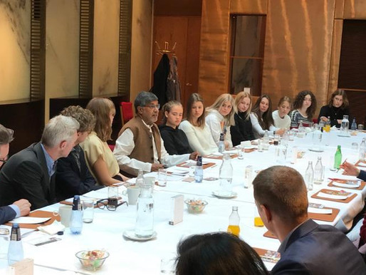 Nobel Peace Laureate discusses responsible sourcing with Sweden's Minister of Trade