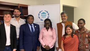 Nobel Laureate meets youth & student leaders in New York