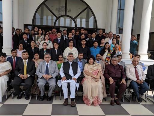 Nobel Peace Laureate addresses Senior Judiciary in Kolkata