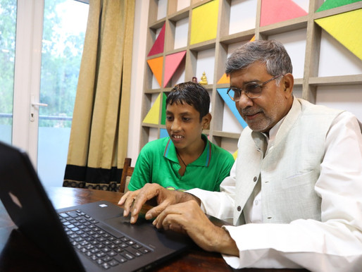 Nobel Peace Laureate holds a LIVE Twitter Chat