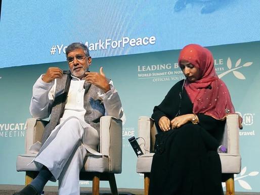 Nobel Peace Laureate speaks at Nobel Peace Summit in Mexico