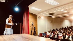 Nobel Peace Laureate speaks at International Seminar on Discrimination in Salvador, Brazil