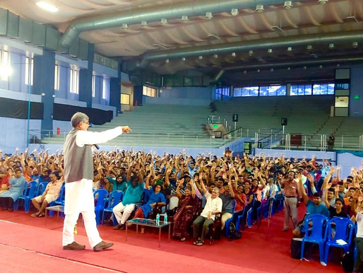 Nobel Peace Laureate delivers Extra Mural Lecture at  IIT Madras