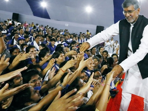 Nobel Laureate exhorts more than 4000 girls at Banasthali to join 100 million campaign