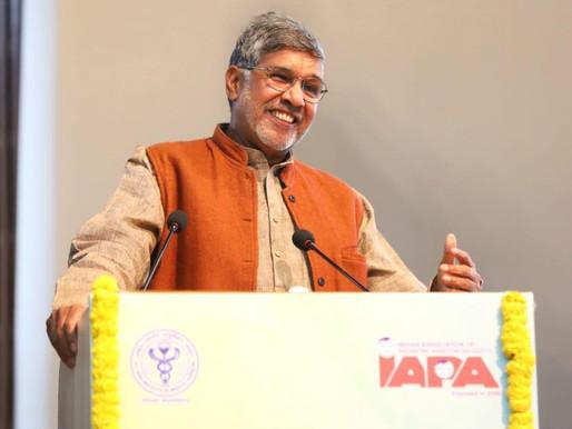 Nobel Peace Laureate addresses medical practitioners at AIIMS