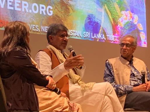 Nobel Peace Laureate speaks at screening of The Price of Free in Seattle