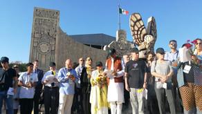 Nobel Peace Laureate joins in the Climate Strike at Merida