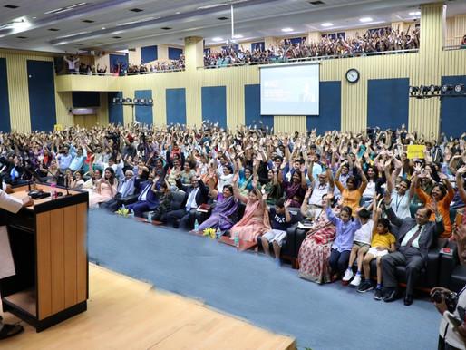 Amity University screens the Price of Free