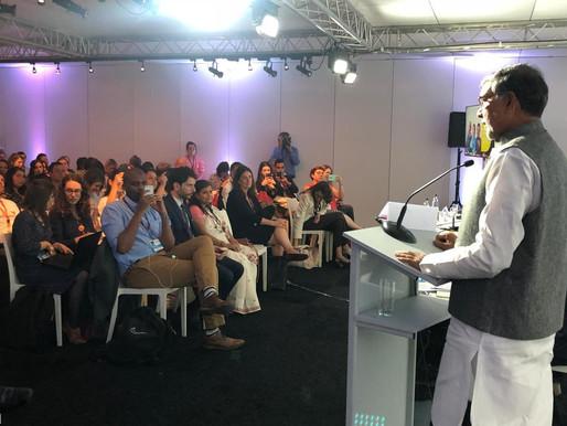 Nobel Peace Laureate in Brussels at European Development Days 2019
